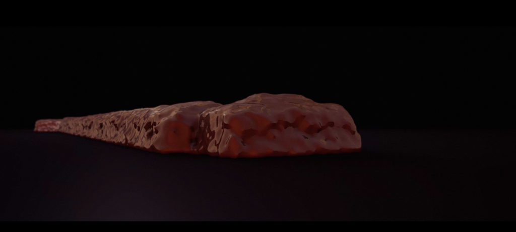 Melting Lingotto 3D video concrete chocolate