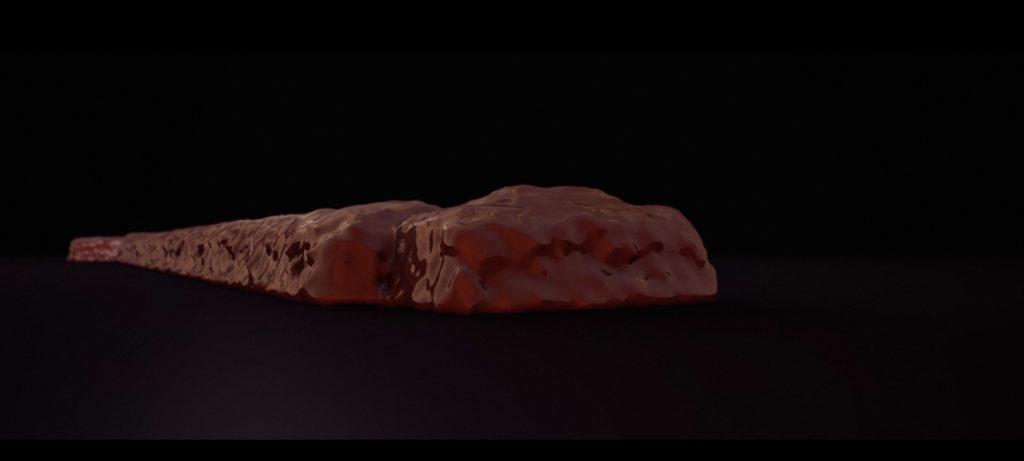 Melting Lingotto 3D video concrete chocolate