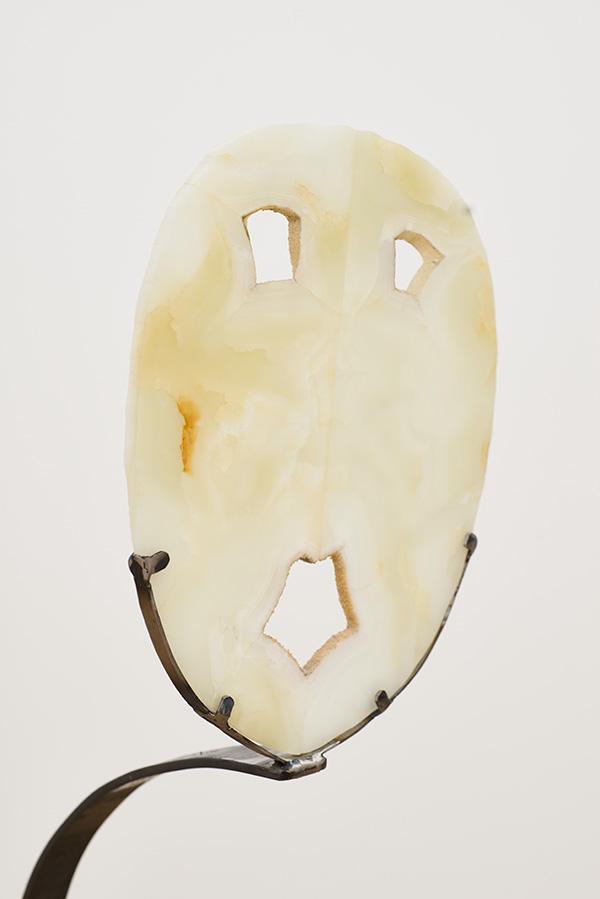 Beaudemont Macchia Aperta dancing painting iron marble mask Domus Aurea Artemis Fontana