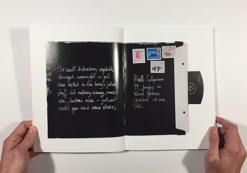This Arrogant envelope Pauline BEaudemont Polaroid Xray Joseph Mosconi mailart surrealism