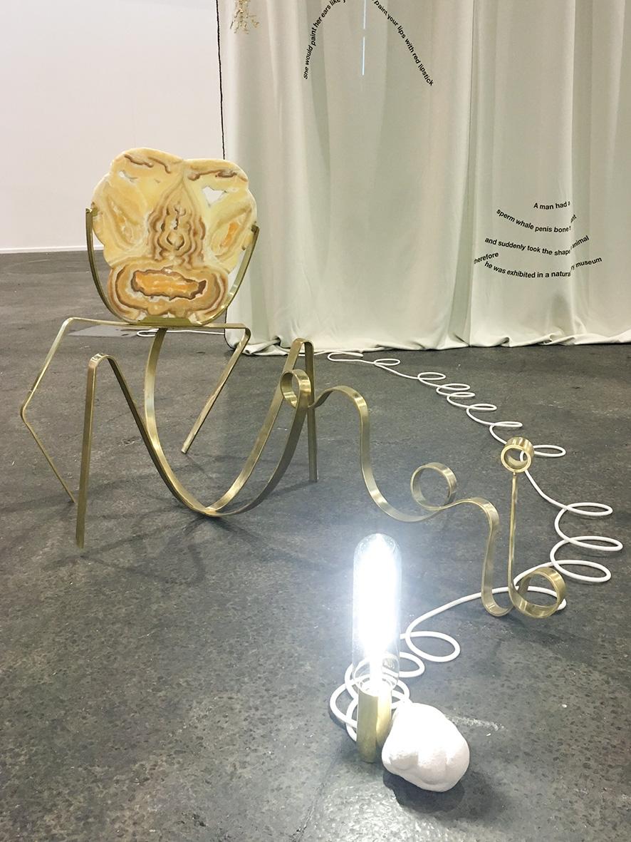 beaudemont, curtain, dream, onyx, swiss art awards, basel, light